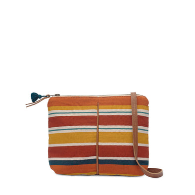 Rosenda Crossbody - Multi Stripe