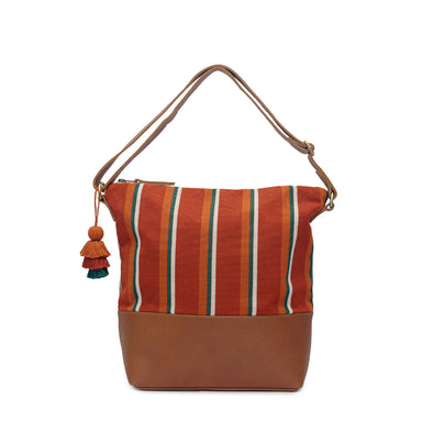 Lidia Hobo - Ginger Stripe