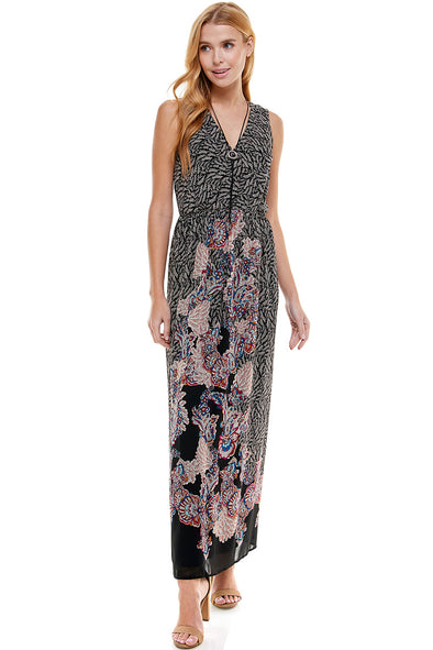 Maxi Dress With Necklace