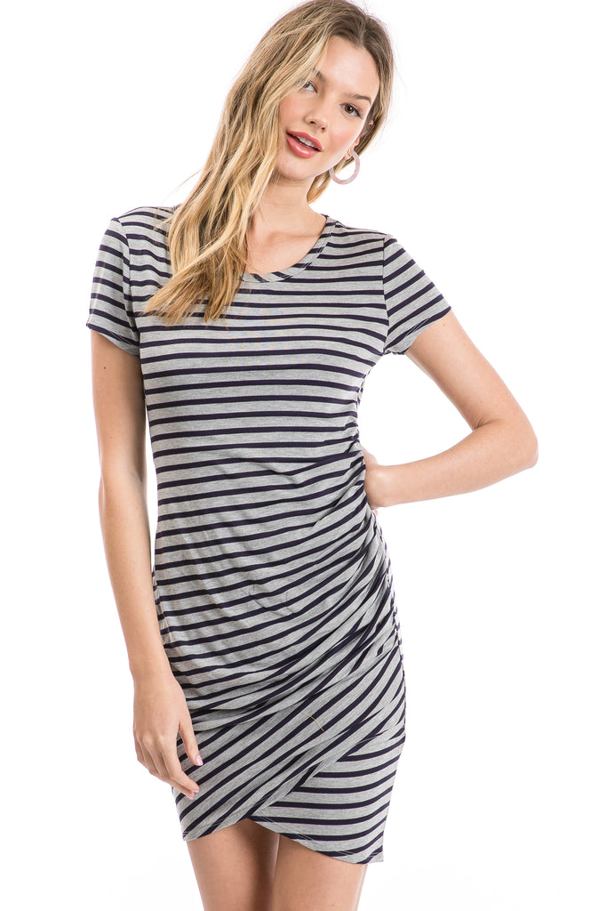 Women's Short Sleeve Casual Knit Dress