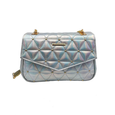 Quilted Baguette Shoulder Bag