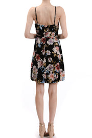 V-Neck Cami Floral Dress - Charming Charlie