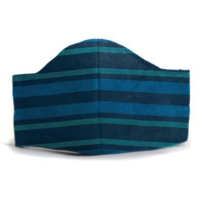Kids' Peacock Blue Face Mask