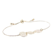 Delicate Filigree Adjustable Pull Bracelet - Rose Gold - Charming Charlie