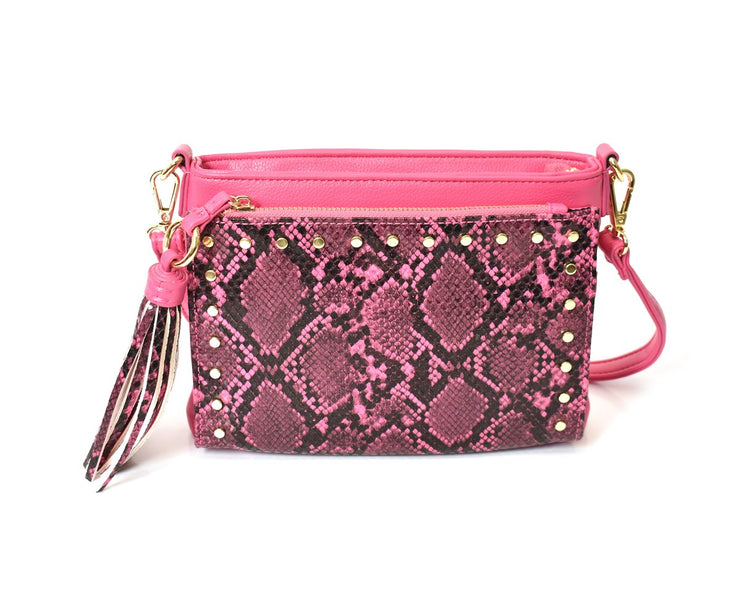 Snake Wallet Pocket Crossbody