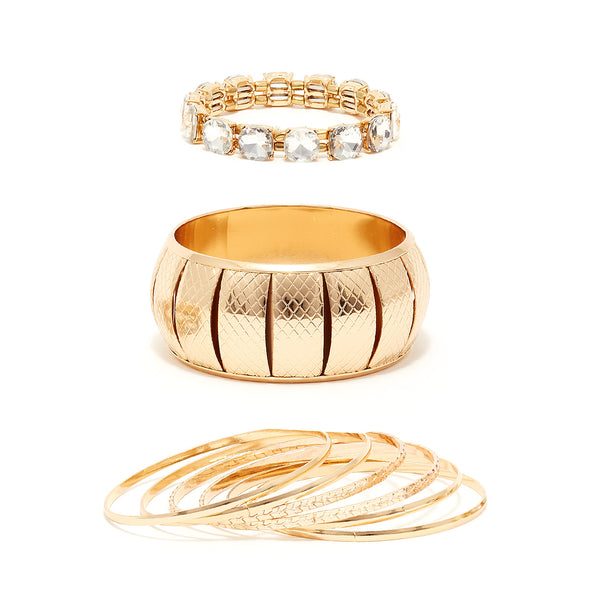 Statement Bangle Set
