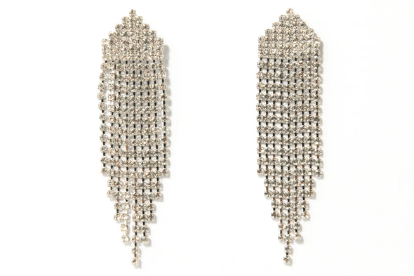 Layered Cupchain Fringe Occasion Earring