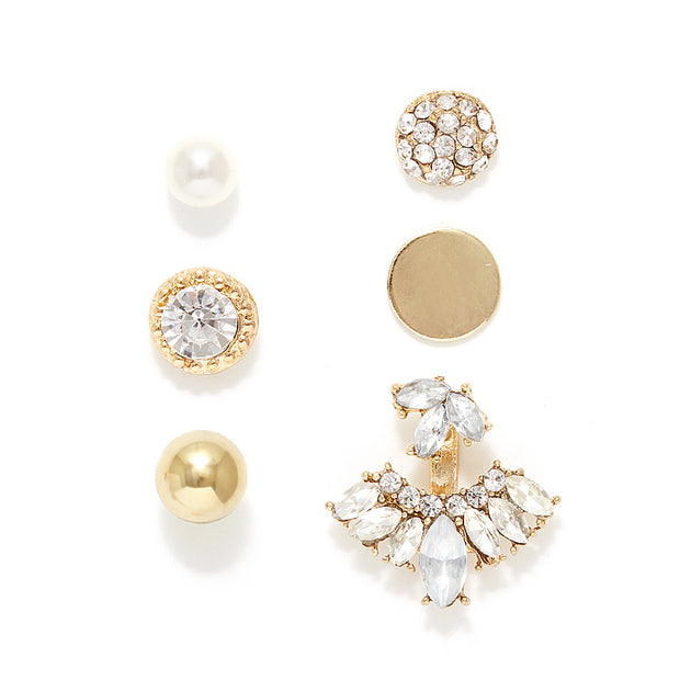 Set of 6 Earring Jacket and Layering Pack