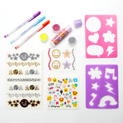 Body Bling Activity Set - Styling Tools/Accessories - 20 Pieces - Charming Charlie