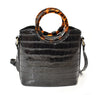 Croco Crossbody Handbag - Charming Charlie