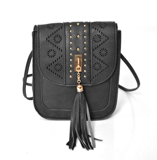 Boho Laser Cut Small Crossbody