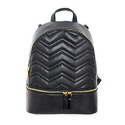 Zig Zag Quilted Backpack - Charming Charlie