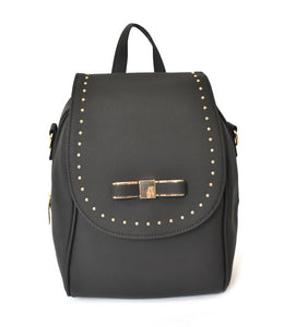Backpack w/ Bow and Studs