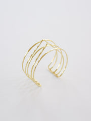 Summit Stack cuff gold