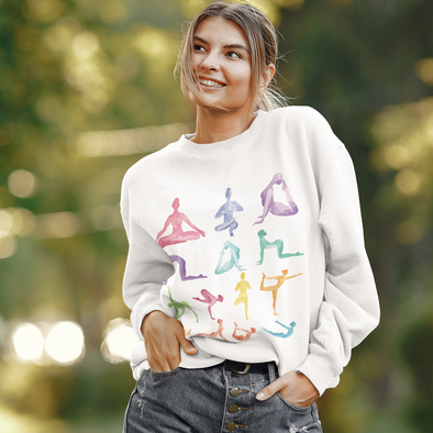 Women's V-Neck Button Down Long Sleeve Stripe Shirt