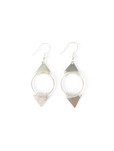 Isha Earrings silver
