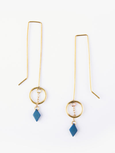 Saraswati Earrings Gold