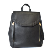 Front Flap Backpack Bag w/ Double Zipper Pulls