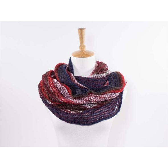 Multicolored Cold Weather Scarf