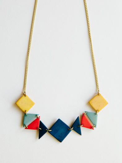 Festive Hues Necklace, Multicolor
