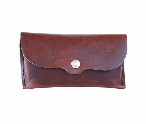 Genuine Leather Eyeglasses Case
