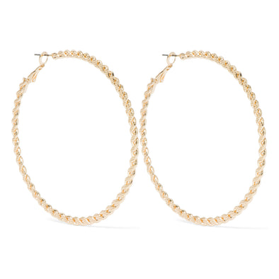 NINE WEST DS MINI TWIST 70MM HOOP