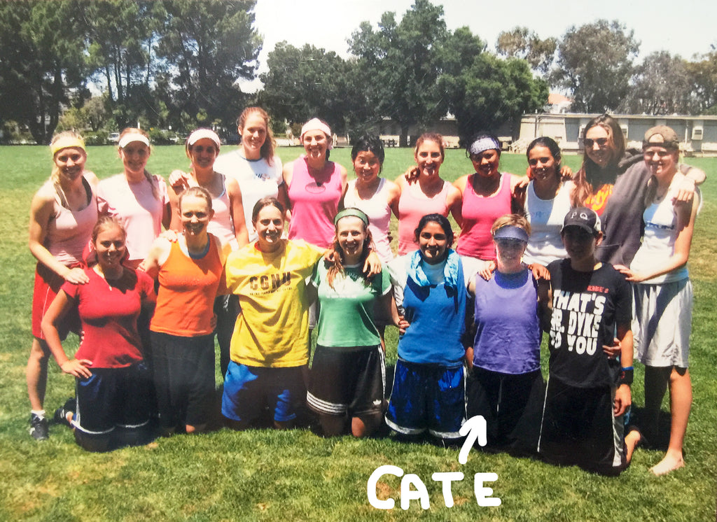 Cate Roscoe Seattle Cascades AUDL Team Pride Month Guest Blog Diversity Inclusion Ultimate Community