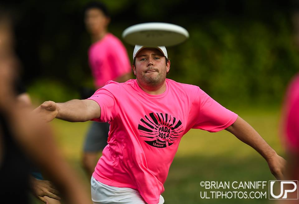 Philadelphia Area Disc Alliance PADA Ultimate Frisbee Summer League Quaranteam Fundraiser