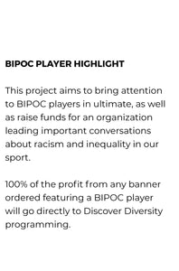 Player Banner by Discover Diversity