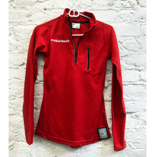 Red Odyssey 1/4 Zip Jacket (W)