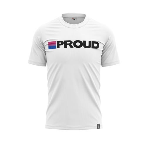 Bisexual Pride White Jersey