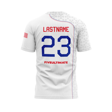 Load image into Gallery viewer, 2020 USNT White Short Sleeve Jersey