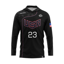 Load image into Gallery viewer, 2020 USNT Dark Sun Hoodie