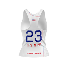 Load image into Gallery viewer, 2020 USNT White Tank Top
