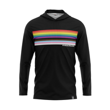 Load image into Gallery viewer, Pride Rainbow Full Sub Sun Hoodie