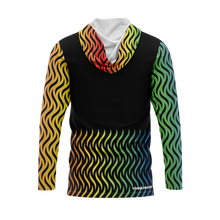 Load image into Gallery viewer, Rainbow Love is Love Full Sub Sun Hoodie