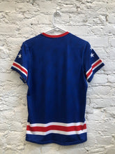 Load image into Gallery viewer, Blue USNT Sublimated Electro Jersey