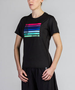 Like a Girl  Electro Short Sleeve Jersey (W)