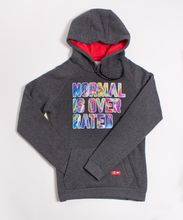Load image into Gallery viewer, Normal is Overrated Fuzzy Hoodie (W)