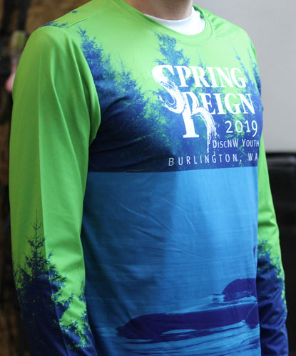 Spring Reign 2019 Long Sleeve Electro Jersey (M & W)