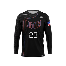 Load image into Gallery viewer, 2020 USNT Dark Long Sleeve Jersey