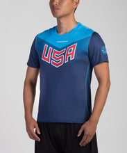 Load image into Gallery viewer, Dark USNT 2017 Blank Sublimated Electro Jersey (M)