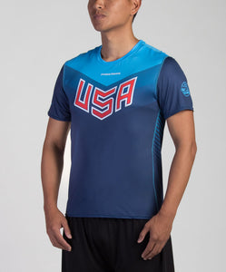Dark USNT 2017 Blank Sublimated Electro Jersey (M)