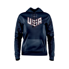 Load image into Gallery viewer, 2020 USNT Navy Hoodie