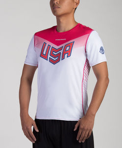 Light USNT 2017 Blank Sublimated Electro Jersey (M)