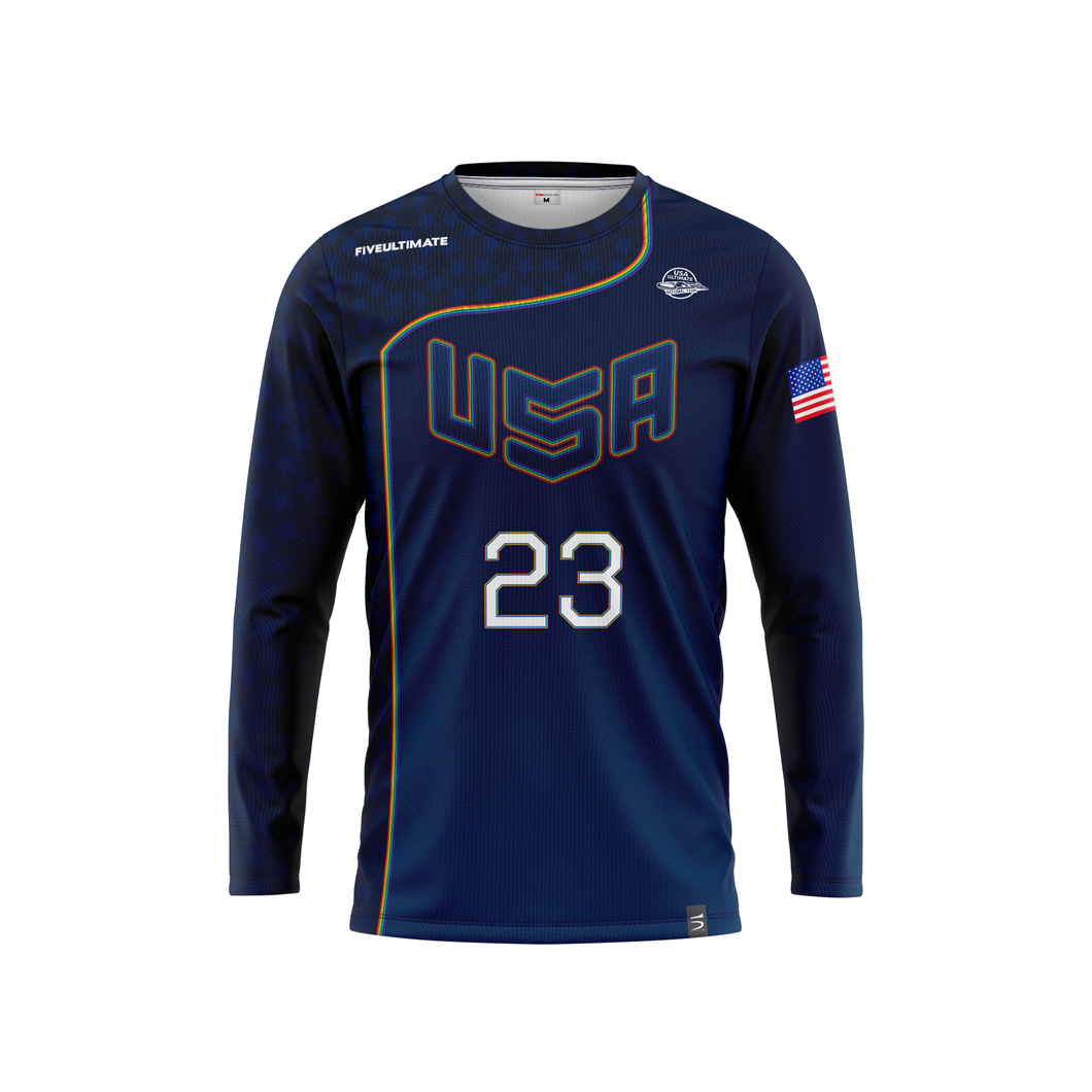 2020 USNT Pride Long Sleeve Jersey