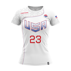 2020 USNT White Short Sleeve Jersey