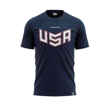 Load image into Gallery viewer, 2020 USNT Navy Training Jersey