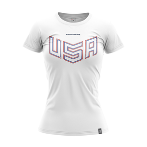 2020 USNT White Training Jersey
