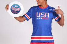 Load image into Gallery viewer, Blue USNT 2019 Sublimated Electro Jersey